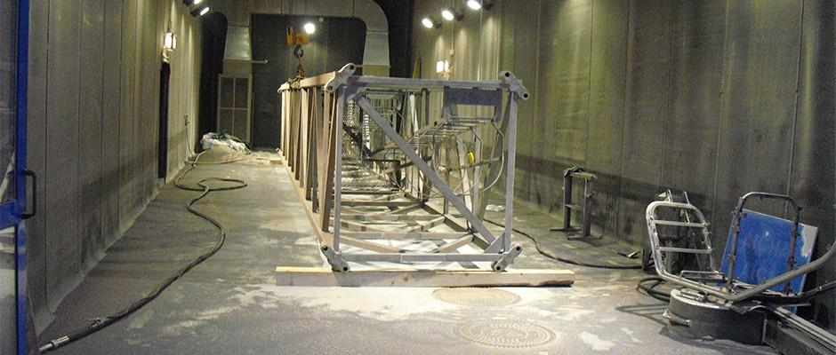 Impianto di sabbiatura veicoli darocca carrozzeria for Idrociclone per sabbia usato